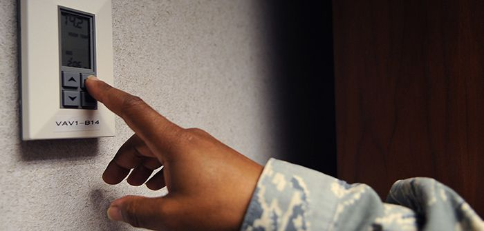 ahorro de energía para el hogar termostato